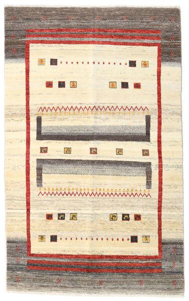 Gabbeh Kashkooli Teppe 115X186 Ekte Moderne Håndknyttet Beige/Mørk Beige (Ull, Persia/Iran)