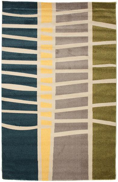 Abstract Bamboo Teppe 200X300 Moderne Beige/Blå/Lys Grå ( Tyrkia)