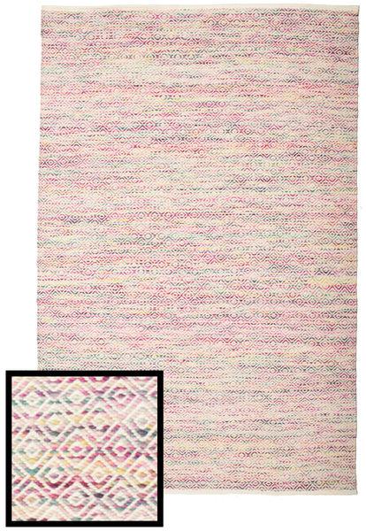 Hugo - Multi Pink Teppe 160X230 Ekte Moderne Håndvevd Lys Grå/Lyselilla ( India)