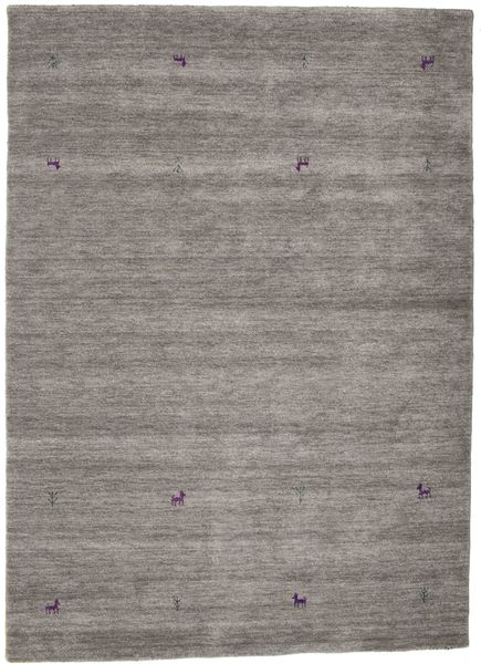 Gabbeh Loom Two Lines - Grå Teppe 160X230 Moderne Lys Grå/Mørk Grå (Ull, India)