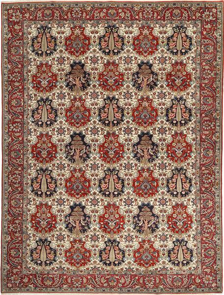 Bakhtiar Teppe 304X402 Ekte Orientalsk Håndknyttet Mørk Brun/Lysbrun Stort (Ull, Persia/Iran)