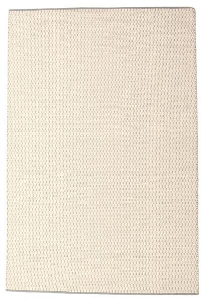 Bobbie - White_Grey Teppe 160X230 Ekte Moderne Håndvevd Beige/Lys Grå (Ull, India)