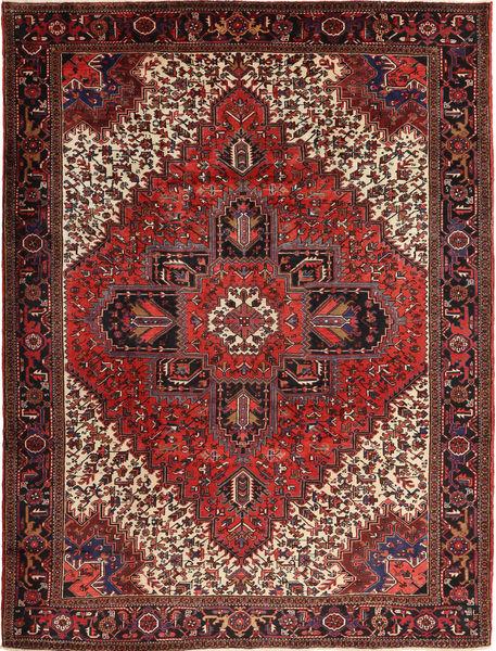 Heriz Teppe 254X338 Ekte Orientalsk Håndknyttet Mørk Rød/Mørk Brun Stort (Ull, Persia/Iran)