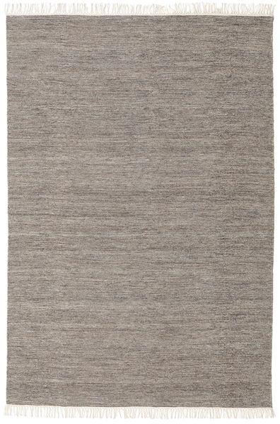 Melange - Brun Teppe 160X230 Ekte Moderne Håndvevd Lys Grå/Beige (Ull, India)