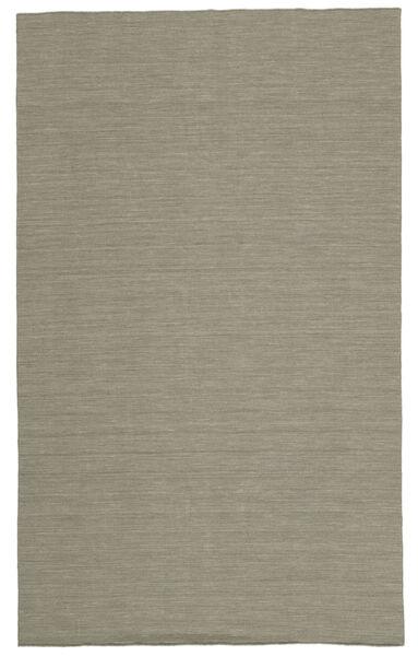 Kelim Loom - Lys Grå/Beige Teppe 300X500 Ekte Moderne Håndvevd Lys Grå Stort (Ull, India)
