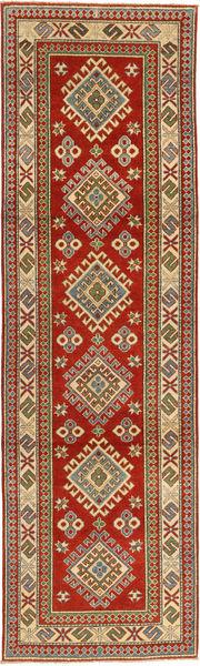 Kazak Teppe 81X292 Ekte Orientalsk Håndknyttet Teppeløpere Mørk Rød/Lysbrun (Ull, Pakistan)