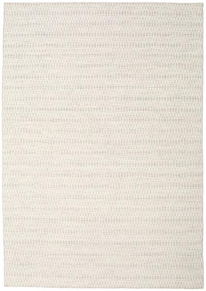 Kelim Long Stitch - Beige Teppe 240X340 Ekte Moderne Håndvevd Lys Grå/Beige (Ull, India)
