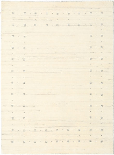 Loribaf Loom Delta - Natural Teppe 160X230 Moderne Beige/Hvit/Creme (Ull, India)