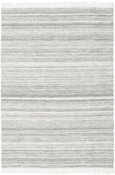 Diamond Ull - Grå Teppe 160X230 Ekte Moderne Håndvevd Lys Grå/Hvit/Creme (Ull, India)
