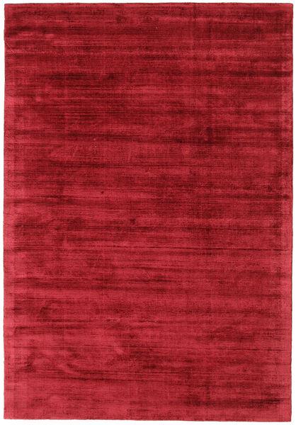 Tribeca - Mørk Rød Teppe 160X230 Moderne Rød ( India)