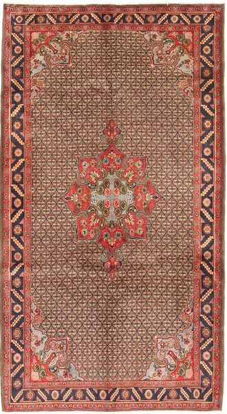 Koliai Teppe 158X286 Ekte Orientalsk Håndknyttet Teppeløpere Mørk Rød/Mørk Brun (Ull, Persia/Iran)