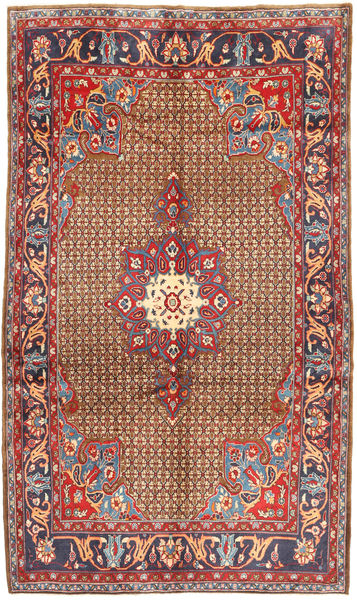Koliai Teppe 171X290 Ekte Orientalsk Håndknyttet Mørk Rød/Mørk Grå (Ull, Persia/Iran)
