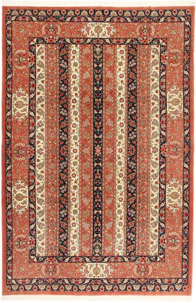 Ilam Sherkat Farsh Teppe 210X312 Ekte Orientalsk Håndknyttet Rød/Mørk Rød (Ull, Persia/Iran)