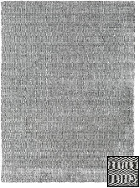 Bamboo Grass - Black_ Grå Teppe 210X290 Moderne Lys Grå (Ull/Bambus Silke, Tyrkia)