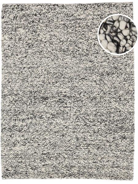 Bubbles - Melange Grå Teppe 250X350 Moderne Lys Grå/Turkis Blå Stort (Ull, India)