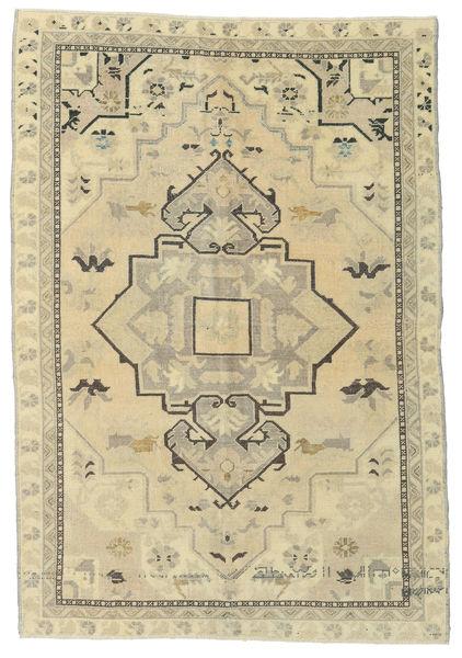 Taspinar Teppe 151X215 Ekte Orientalsk Håndknyttet Mørk Beige/Beige/Olivengrønn (Ull, Tyrkia)
