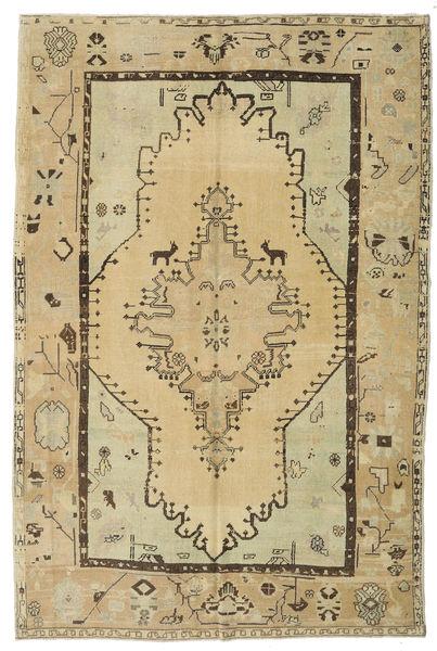 Taspinar Teppe 166X251 Ekte Orientalsk Håndknyttet Lysgrønn/Mørk Beige (Ull, Tyrkia)
