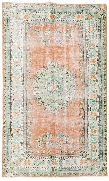 Taspinar Teppe 162X270 Ekte Orientalsk Håndknyttet Beige/Turkis Blå (Ull, Tyrkia)
