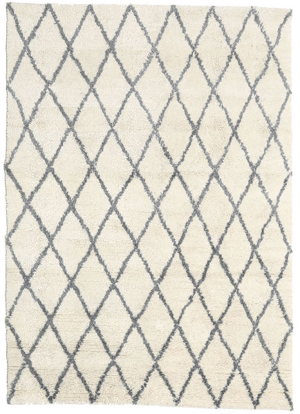 Queens - Grå - Comb. Teppe 160X230 Moderne Beige (Ull, India)