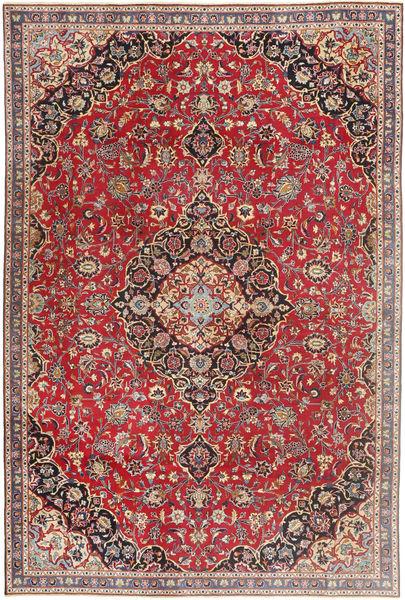 Mashad Patina Teppe 183X278 Ekte Orientalsk Håndknyttet Mørk Rød/Beige (Ull, Persia/Iran)