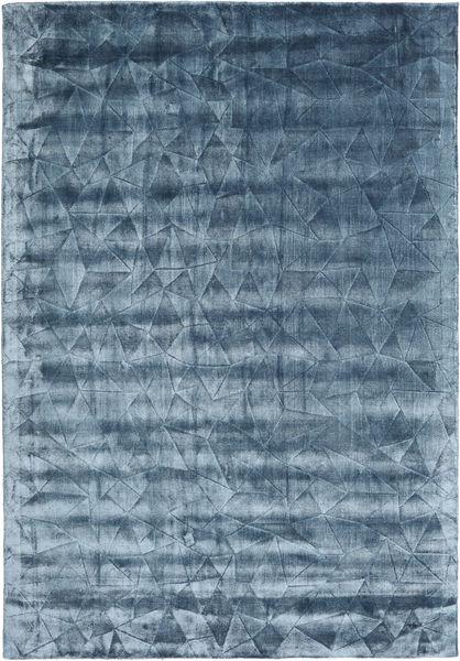 Crystal - Steel Blue Teppe 160X230 Moderne Mørk Blå/Blå/Lys Blå ( India)
