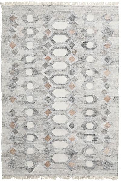 Martha Teppe 160X230 Ekte Moderne Håndvevd Lys Grå ( India)