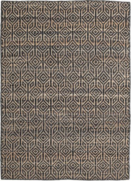 Tilly Jute Teppe 160X230 Ekte Moderne Håndvevd Mørk Grå/Lys Grå ( India)