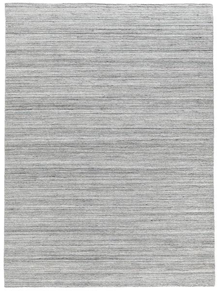 Utendørsteppe Petra - Light_Mix Teppe 140X200 Ekte Moderne Håndvevd Lys Grå/Hvit/Creme ( India)
