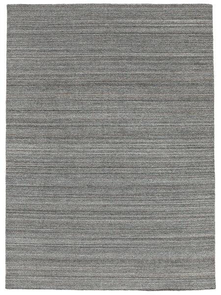 Petra - Dark_Mix Teppe 140X200 Ekte Moderne Håndvevd Mørk Grå/Lys Blå ( India)