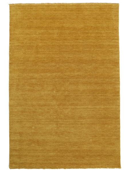 Handloom Fringes - Gul Teppe 160X230 Moderne Orange/Lysbrun (Ull, India)