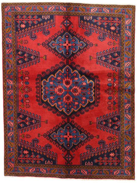 Wiss Teppe 152X202 Ekte Orientalsk Håndknyttet Mørk Lilla/Mørk Rød (Ull, Persia/Iran)