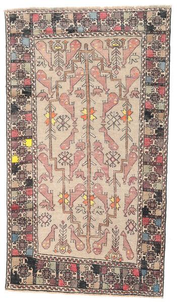 Beluch Patina Teppe 108X193 Ekte Orientalsk Håndknyttet Beige/Lys Grå (Ull, Persia/Iran)