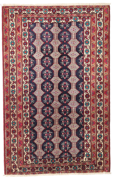 Beluch Patina Teppe 132X206 Ekte Orientalsk Håndknyttet Mørk Lilla/Beige (Ull, Persia/Iran)