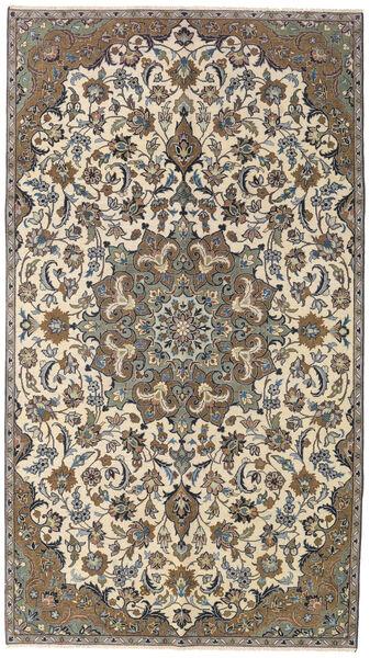 Najafabad Patina Teppe 155X270 Ekte Orientalsk Håndknyttet Beige/Mørk Grå (Ull, Persia/Iran)