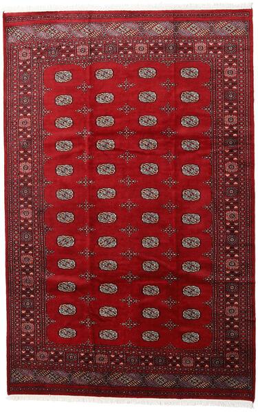 Pakistan Bokhara 2Ply Teppe 205X315 Ekte Orientalsk Håndknyttet Rød/Mørk Rød (Ull, Pakistan)