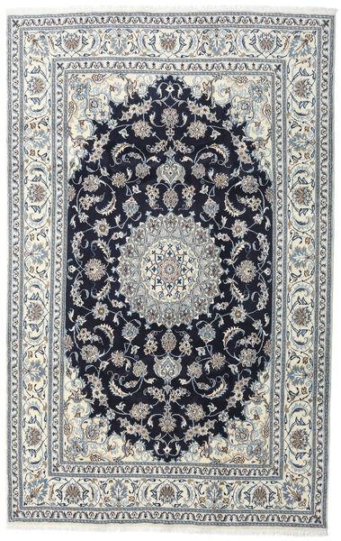 Nain Teppe 200X308 Ekte Orientalsk Håndknyttet Mørk Grå/Lys Grå (Ull, Persia/Iran)