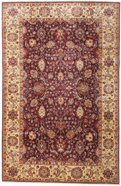 Ziegler Ariana Teppe 201X309 Ekte Orientalsk Håndknyttet Mørk Rød (Ull, Afghanistan)