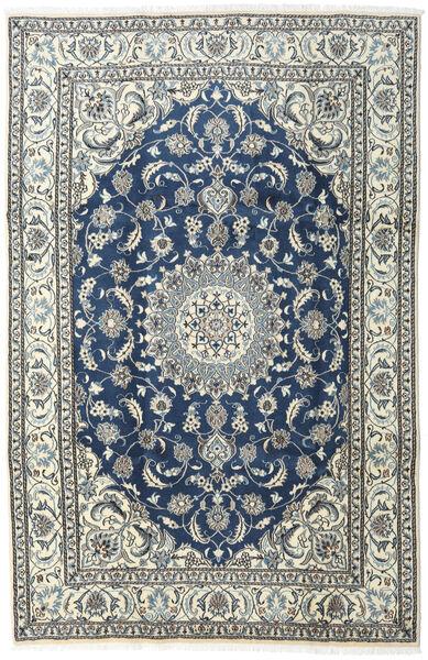 Nain Teppe 200X300 Ekte Orientalsk Håndknyttet Beige/Mørk Grå (Ull, Persia/Iran)