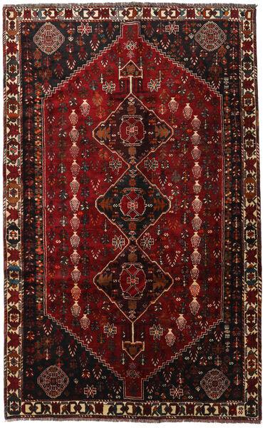 Ghashghai Teppe 169X273 Ekte Orientalsk Håndknyttet Mørk Rød (Ull, Persia/Iran)