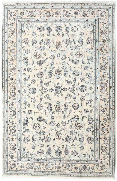 Nain Teppe 198X301 Ekte Orientalsk Håndknyttet Beige/Lys Grå (Ull, Persia/Iran)