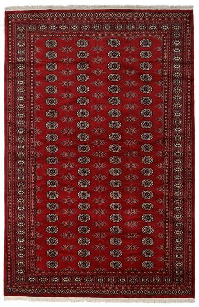 Pakistan Bokhara 2Ply Teppe 202X308 Ekte Orientalsk Håndknyttet Mørk Rød/Mørk Brun (Ull, Pakistan)
