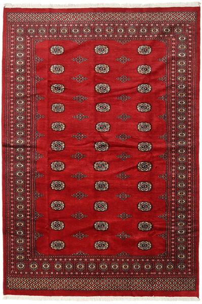 Pakistan Bokhara 2Ply Teppe 201X294 Ekte Orientalsk Håndknyttet Mørk Rød/Rød (Ull, Pakistan)