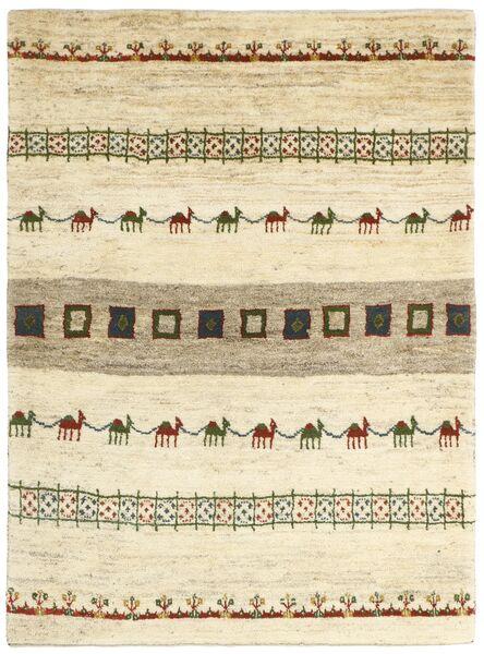Gabbeh Persia Teppe 128X179 Ekte Moderne Håndknyttet Beige/Mørk Beige (Ull, Persia/Iran)