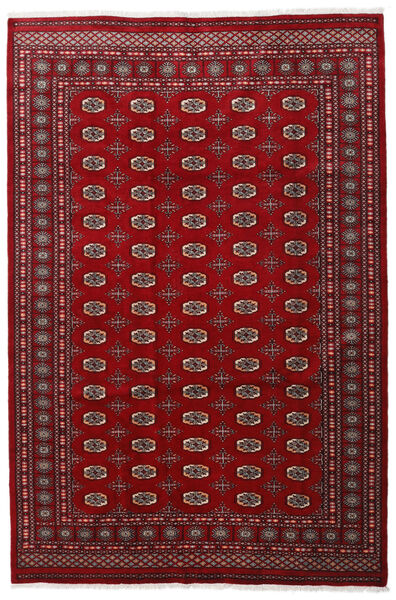 Pakistan Bokhara 3Ply Teppe 201X301 Ekte Orientalsk Håndknyttet Mørk Rød/Rød/Mørk Brun (Ull, Pakistan)