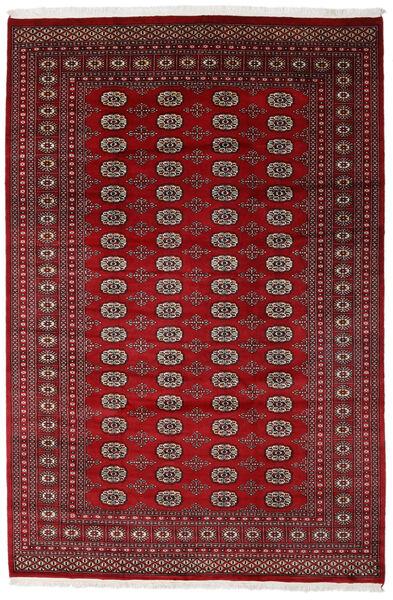 Pakistan Bokhara 2Ply Teppe 205X308 Ekte Orientalsk Håndknyttet Mørk Rød/Rød (Ull, Pakistan)