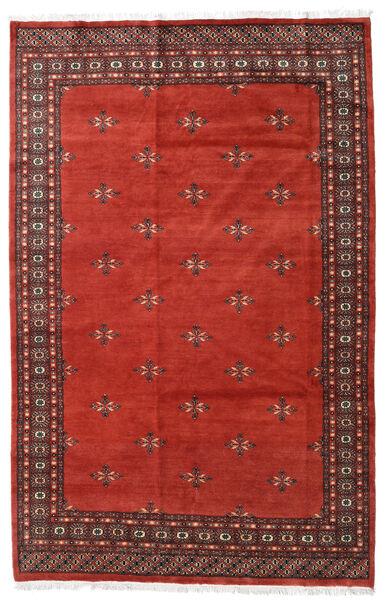 Pakistan Bokhara 2Ply Teppe 170X245 Ekte Orientalsk Håndknyttet Rust/Mørk Rød (Ull, Pakistan)