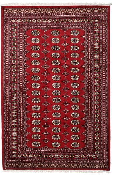Pakistan Bokhara 2Ply Teppe 190X288 Ekte Orientalsk Håndknyttet Mørk Rød/Rød (Ull, Pakistan)