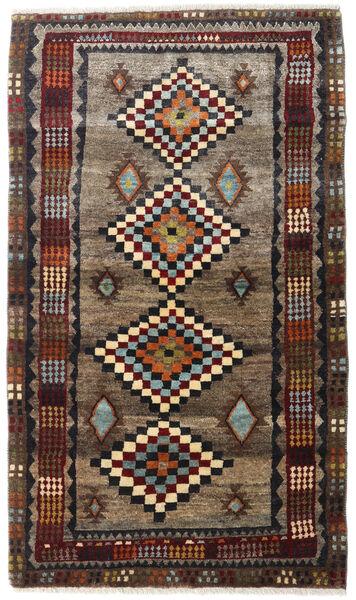 Ghashghai Teppe 100X174 Ekte Orientalsk Håndknyttet Mørk Rød/Svart (Ull, Persia/Iran)