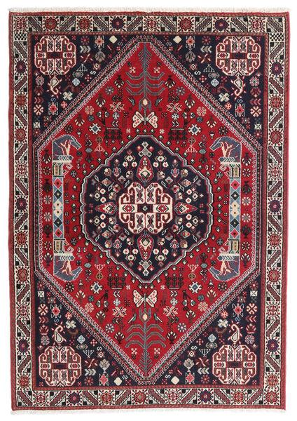 Gabbeh Kashkooli Teppe 100X142 Ekte Moderne Håndknyttet Mørk Blå/Rød (Ull, Persia/Iran)