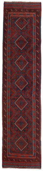 Kelim Golbarjasta Teppe 62X260 Ekte Orientalsk Håndvevd Teppeløpere Mørk Rød/Svart (Ull, Afghanistan)